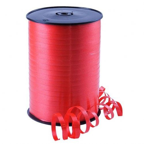 Red Curling Balloon Ribbon - 500m (each)